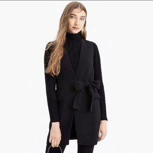 J. Crew NEW Black Sleeveless Tie Waistcoat Vest 2